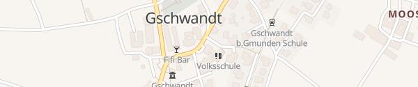 Karte Volksschule Gschwandt