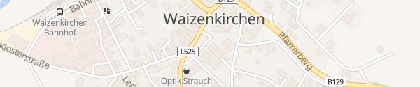 Karte Marktplatz Waizenkirchen