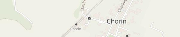 Karte Fahrradverleih Chorin Chorin
