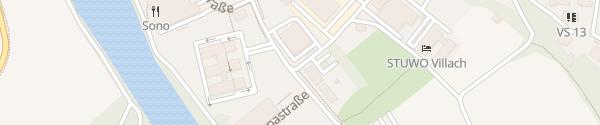 Karte Fachhochschule Kärnten Villach