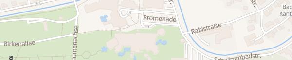 Karte Eurotherme Aquapulco Bike-Station Bad Schallerbach