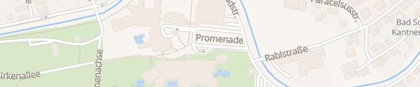 Karte Eurotherme Aquapulco Bad Schallerbach