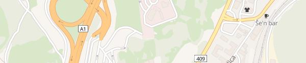 Karte Supercharger Casinò Resort Admiral Kozina