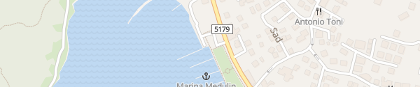 Karte Parkplatz Yachthafen Medulin
