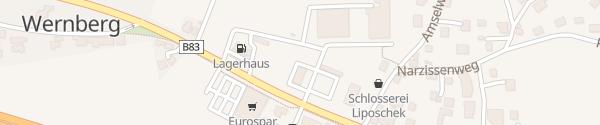 Karte Raiffeisenbank Wernberg