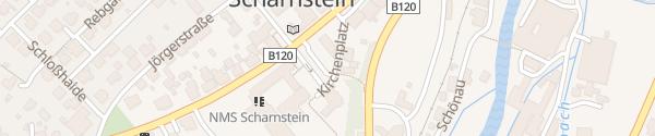 Karte Kirchenplatz Scharnstein