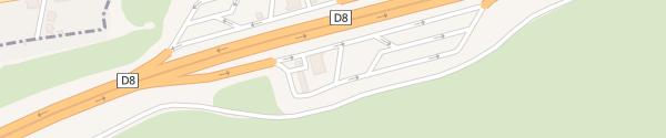 Karte MOL D8 - Germany Ústí nad Labem-město