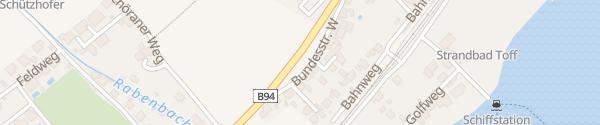 Karte Parkplatz Ossiacher See Bodensdorf