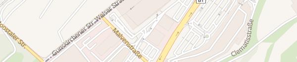 Karte max.center Wels Tiefgarage Wels