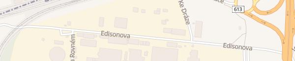 Karte CEZ Ladepark Trmice