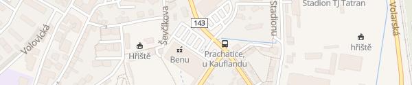Karte Kaufland Prachatice