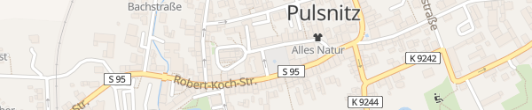 Karte Marktplatz Pulsnitz