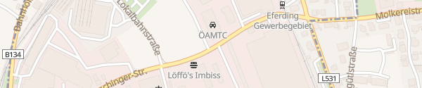 Karte ÖAMTC Stützpunkt Eferding