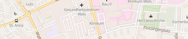 Karte Rotes Kreuz Wels