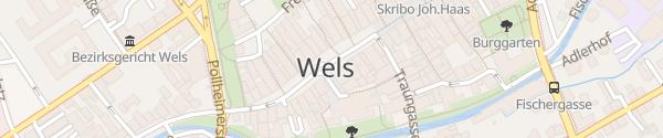 Karte Stadtplatz Wels