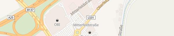 Karte MERKUR Wels