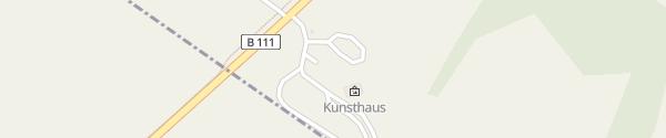 Karte KunstHaus Usedom Neppermin