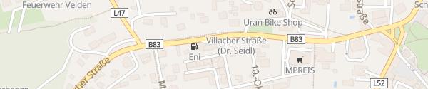 Karte Tourismusinformation Velden am Wörthersee