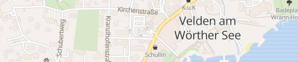 Karte APCOA Casino Parkhaus Velden