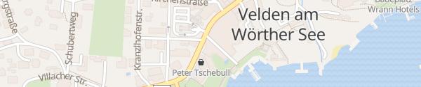 Karte Golf- und Seehotel Engstler Velden am Wörthersee