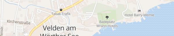 Karte Seehotel Europa Velden