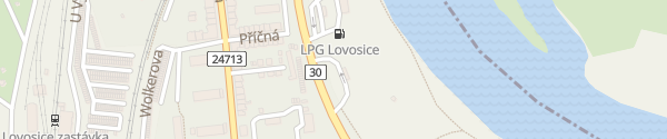 Karte Benzina Lovosice