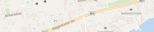 Karte Turmöl Quick Velden am Wörthersee
