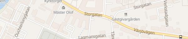 Karte Apladalsgatan Värnamo