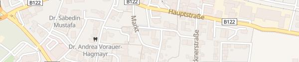 Karte E-Bike Ladepunkt Gemeindeamt Sattledt