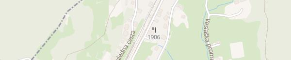 Karte Hotel Triglav Bled