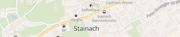 Karte Hauptplatz Stainach