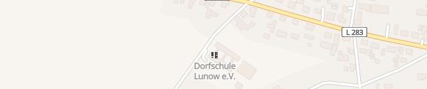 Karte Begegnungszentrum Lunow