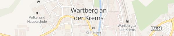 Karte Gemeindeamt Wartberg an der Krems