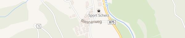 Karte Riesneralm Donnersbachwald