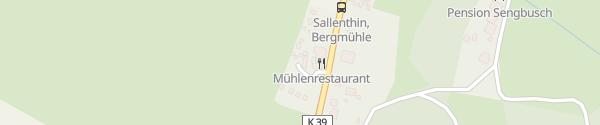 "Karte Hotel Bergmühle & ""Das Mühlenrestaurant"" Heringsdorf"