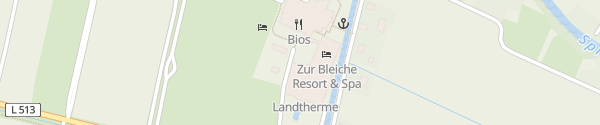 Karte Bleiche Resort & Spa Burg im Spreewald