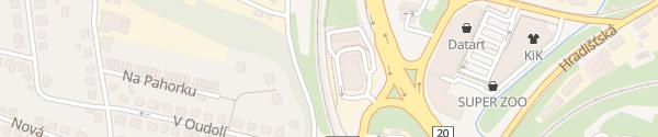 Karte McDonald's Písek