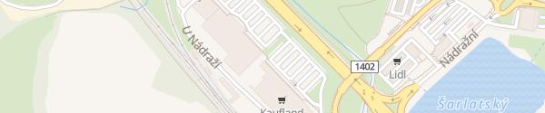 Karte Kaufland Písek