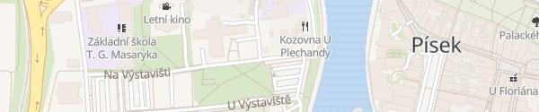 Karte E.ON Schnelllader Písek