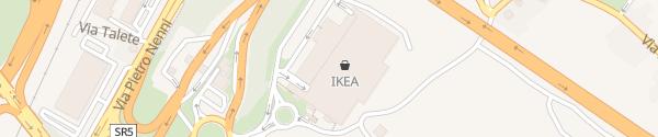 Karte IKEA Chieti San Giovanni Teatino