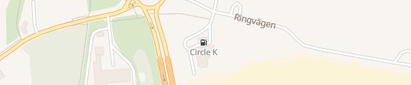 Karte IONITY Circle K Kristianstad