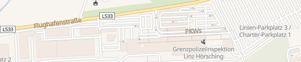 Karte Flughafen Hörsching