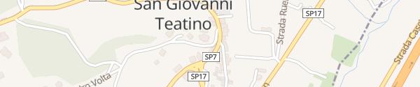 Karte Tesla Supercharger San Giovanni Teatino