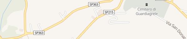 Karte Villa Maiella Ristorante Albergo Guardiagrele