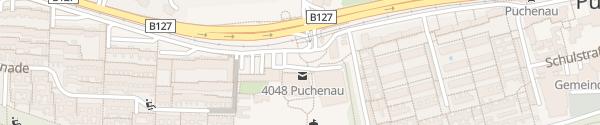Karte Gartenstadtzentrum Puchenau