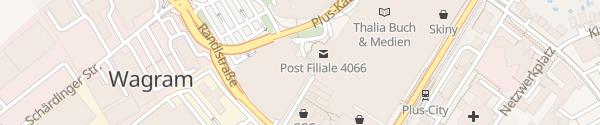 Karte Interspar PlusCity Pasching