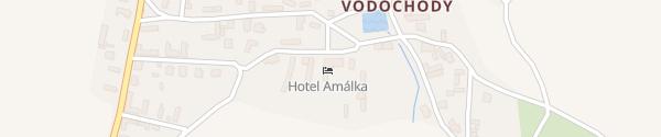 Karte Hotel Amálka Straškov