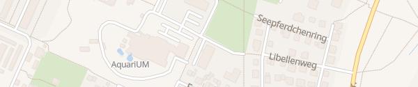 Karte Aquarium Schwedt