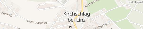 Karte Gemeindeamt Kirchschlag bei Linz