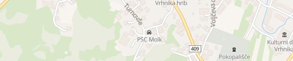 Karte PSC Molk Vrhnika